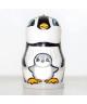 Pingwin z młodym