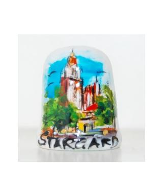 Kolegiata Najświętszej Marii Panny Królowej Świata w Stargardzie ręcznie malowany