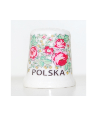 Folk thimble - Polish highlanders pattern