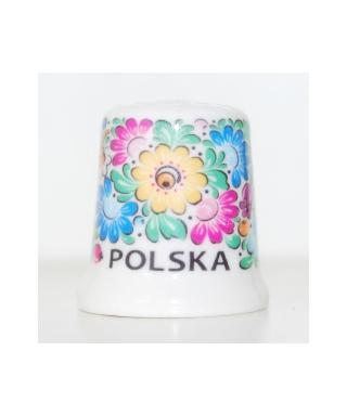 Folk thimble - Opole pattern