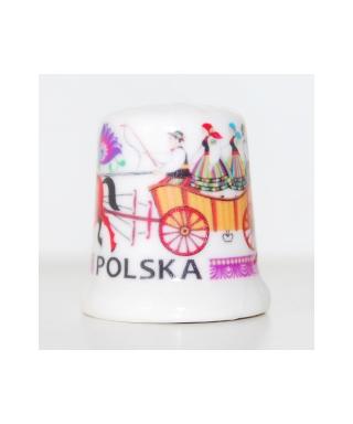 Folk thimble - Łowicz folk scene