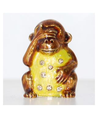 Trzy mądre małpy - Małpa nie widzę nic złego