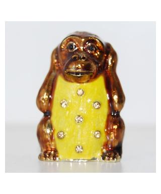 Trzy mądre małpy - Małpa nie słyszę nic złego