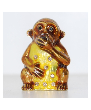 Trzy mądre małpy - Małpa nie mówię nic złego