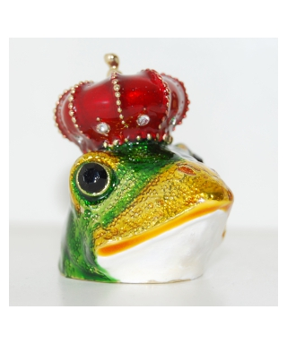 Żaba w koronie