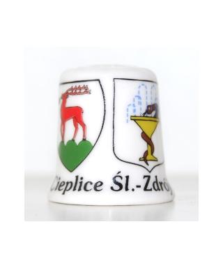 Jelenia Góra emblem and Cieplice emblem