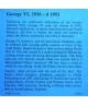 George VI - certificate