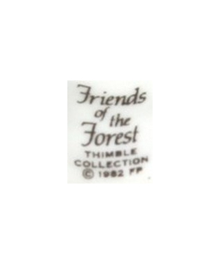 Franklin Porcelain - Friends of the Forest