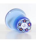 Blue glass millefiori thimble - Royal Wedding