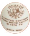 Franklin Porcelain - Betty Bliss