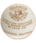 Franklin Porcelain - Lucretia Garfield