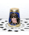 Cloisonne dog
