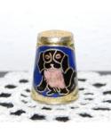 Pies cloisonne