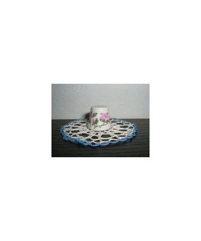 Kwiatki różowe półnaparstek