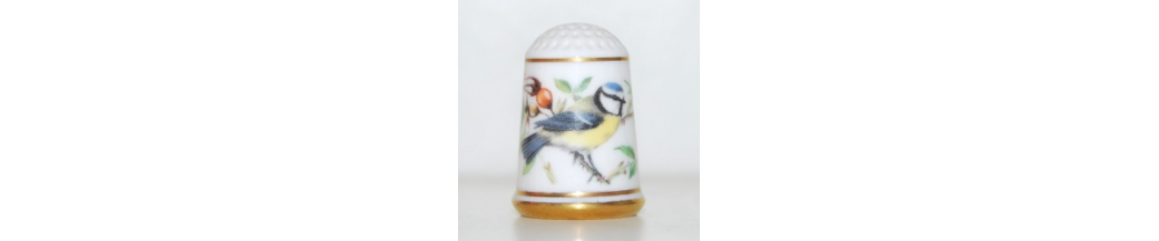 The Garden Birds Thimble Collection (25/25)