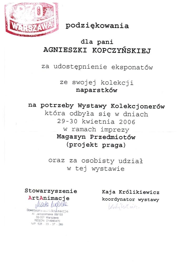 Wystawa kolekcjonerów PZO - 36