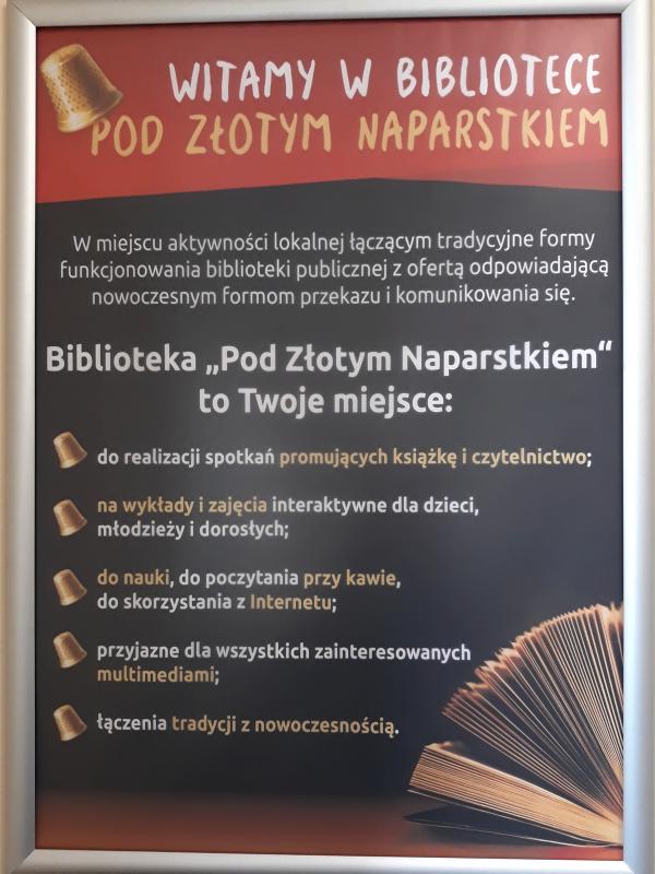 pod złotym naparstkiem library opening - 10